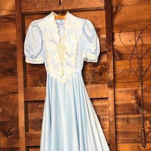 Vintage Handmaid 1970s Dress